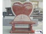 Ruby Red Heart Heatstone For