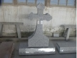 G603 Granite Cross  Headstone