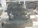 Olive Green Granite With Colorful