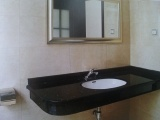 Black Galaxy Granite Countertop Vanity