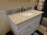 Bathroom Tiger Skin White Granite